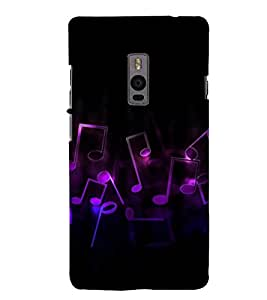 Music Back Case Cover for One Plus Two::One Plus 2::One+2
