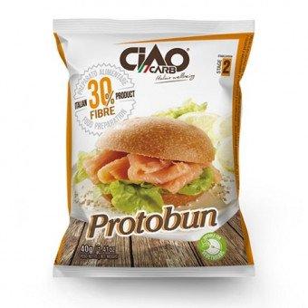 Panini proteici - gusto naturale 40 gr - altissimo contenuto di fibre - sp048