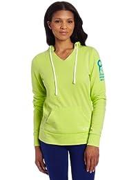 Oakley Hang Five Sweat-shirt pour femme Jaune/noir Jaune néon l