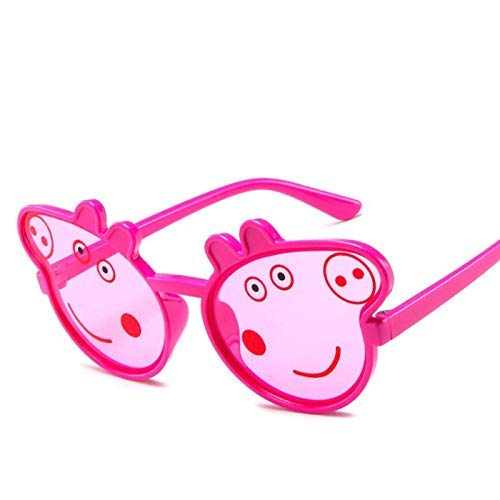 Kinder Cartoon Anime Sonnenbrille Ferkel Sonnenbrille dekorative Brille niedlichen Baby Sonnenbrille