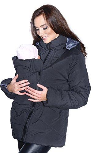 3 in1 Umstandsjacke mit Babyeinsatz