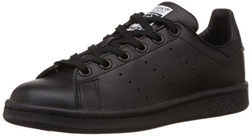 Adidas Stan Smith,  Unisex-Kinder Sneakers, Schwarz, 35.5 EU