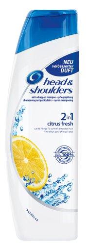 Head & Shoulders Anti-Schuppen Shampoo und Pflegespülung 2 in 1 citrus fresh, 6er Pack (6 x 250 ml)
