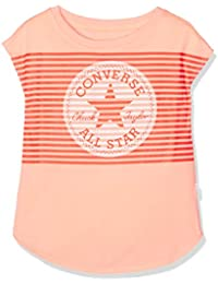 Converse Optic Chuck Patch Tee, T-Shirt Fille, Gris