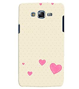 Citydreamz Pink Hearts/Love/Valentine Hard Polycarbonate Designer Back Case Cover For Samsung Galaxy A5