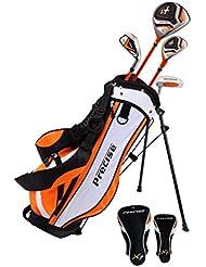 Präzise X7Junior Golf Club Set Für Kinder Kids–3Altersgruppen Größen erhältlich–Mädchen & Jungen–Rechts Hand & Links Hand.