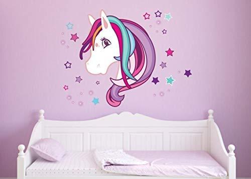 Livingstyle & Wanddesign Wandtattoo Wandaufkleber Pferd Beauty (100 cm x 91 cm)