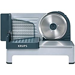 "Krups Aoste Profesional Cortafiambres, cuchilla universal ""Solingen"" de 19 cm"