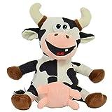Hösti Laber Kuh mit Aufnahme und Wiedergabefunktion inkl. Batterien Plüsch Scherzartikel