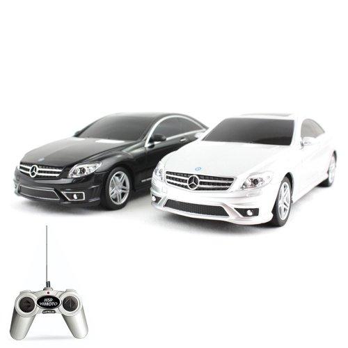 Preisvergleich Produktbild Mercedes Benz CL 63 AMG - RC ferngesteuertes Lizenz-Fahrzeug im Original-Design, Modell-Maßstab 1:24, Ready-to-Drive, Auto inkl. Fernsteuerung, Neu