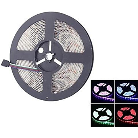 ASNSWDC® 300x5050 72W 2000lm ip65 impermeabile luce luce di striscia di RGB LED (5 metri / 12v)