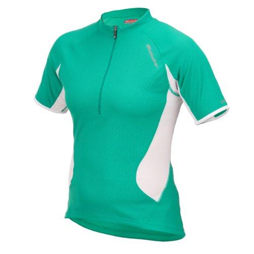 Bellwether - Maillot de ciclismo para mujer, tamaño XL, color verde