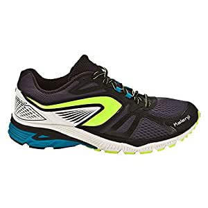 KALENJI MAN'S KIPRUN LD RUNNING SHOES OVER-PRONATION BLACK (43.5)