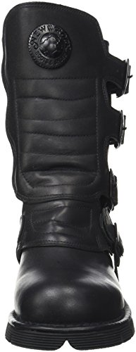New Rock M-373x-s6, Bottes Motardes Mixte Adulte Noir (Black)