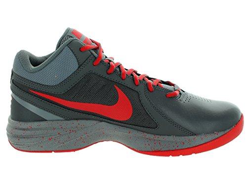 Nike Il Overplay Viii scarpa da basket Dark Grey/Unvrsty Red/Cl Gry