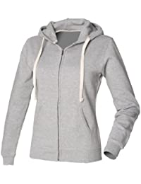 Front Row Womens Zip Through Hoodie