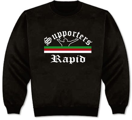 World of Football Sweat Supporters-Rapid - XL