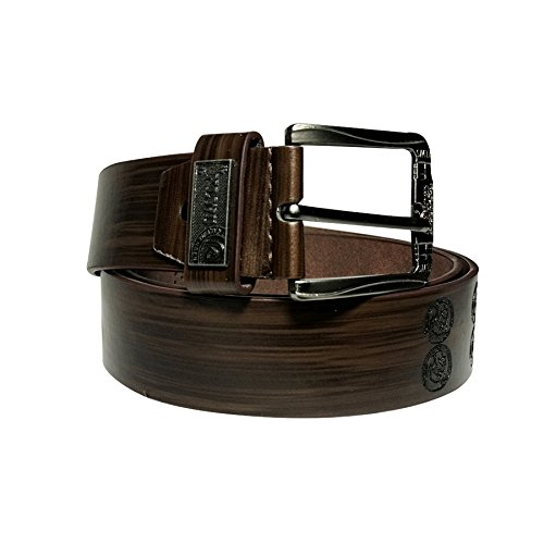 Sky Mart Presents 100% Genuine Leather Brown Matt Look Casual and Formal Belts For Men and Boys | 100% Pure Original Leather Belt for Men - Formal Leather Gifts for Men