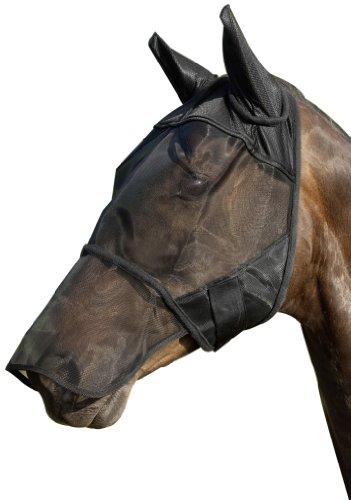 USG Fliegenmaske mit Ohren- und Nüsternschutz, Vollblut