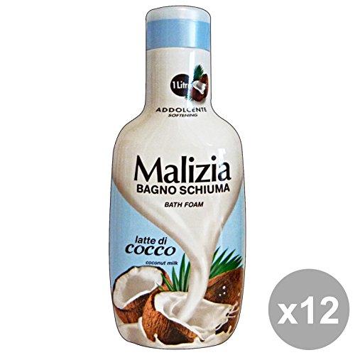Scheda dettagliata MALIZIA Set 12 Bagno Cocco 1 Lt. Saponi E Cosmetici