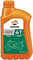 REPSOL rp165N51Lubrificante per moto 4T 10W40, 1L