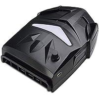 Enfriador Ventilador de refrigeración USB con extracción de aire lateral portátil, enfriador de radiador para computadora portátil, ventilador de refrigeración por disipación de calor para la mayoría