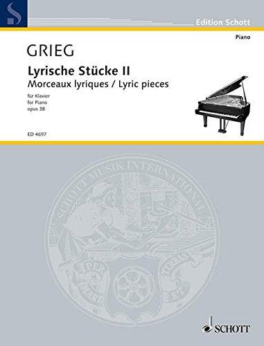 Lyrische Stucke 2 Opus 38 Piano
