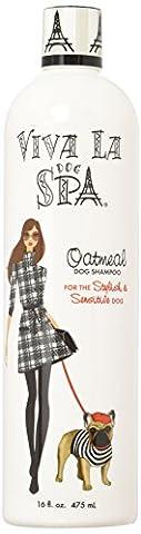 Cardinal Laboratories Viva La Dog Spa Oatmeal Shampoo for Sensitive Skin, 16-Ounce by Viva La Dog Spa