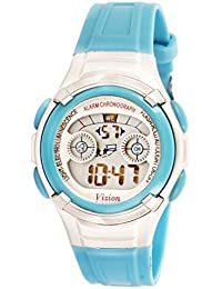 Vizion Digital Multi-Color Dial Children's Watch -8523B-8
