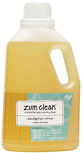 Indigo Wild, Zum Clean, Aromatherapy Laundry Soap, Eucalyptus-Citrus, 64 fl oz (189 L)