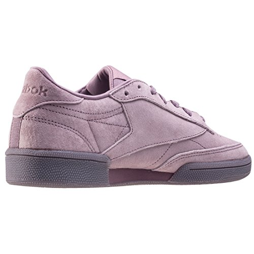 Reebok Womens Club C 85 Sneakers In Pizzo Viola (orchidea Fumosa / Bianca)