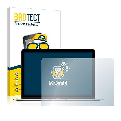 BROTECT Schutzfolie Matt kompatibel mit Apple MacBook Retina 12