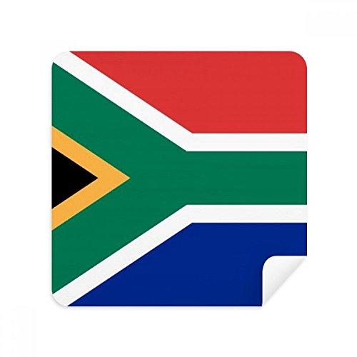 DIYthinker Südafrika Nationalflagge Afrika Land Brillen-Reinigungstuch Telefon Screen Cleaner Suede Fabric 2Pcs
