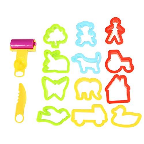 Rosenice - Ausstecher für Knetmasse, Ton-Modelle, Spielzeug für Kinder