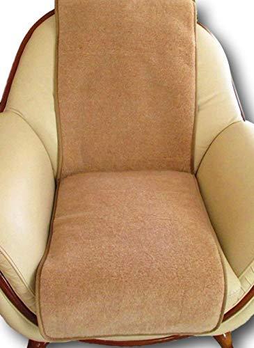 Sesselschoner - 1 Stück Sesselauflage Überwurf, Alpaca Wolle 50x200