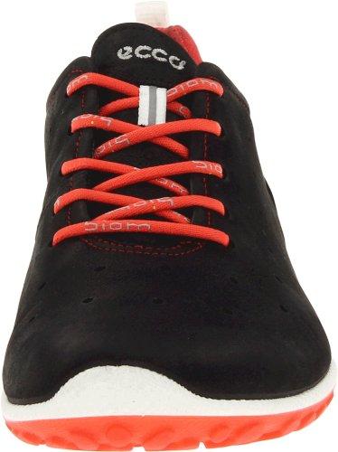 ECCO BIOM LITE 802003 Damen Sneaker Schwarz (Black/Poppy 57733)