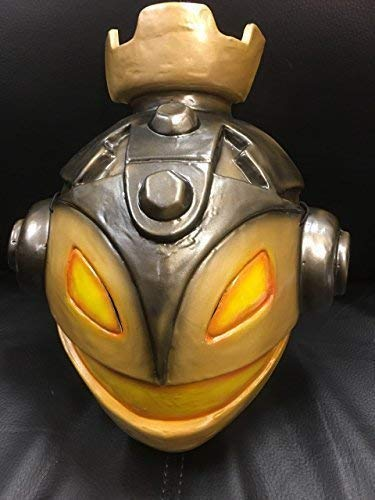 Wrestling Skylanders Maske Sandstrahl Zone - Hartplastik Kostüm Maske - mit Elastische Riemen