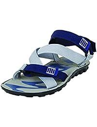 Birde Blue PU Floater Sandals For Men & Boys