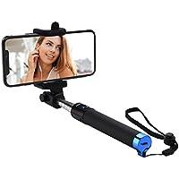 Mpow iSnap Pro X - Palo Selfie Bluetooth Monopod Extensible Remoto Portátil Antideslizante Universal para Selfie