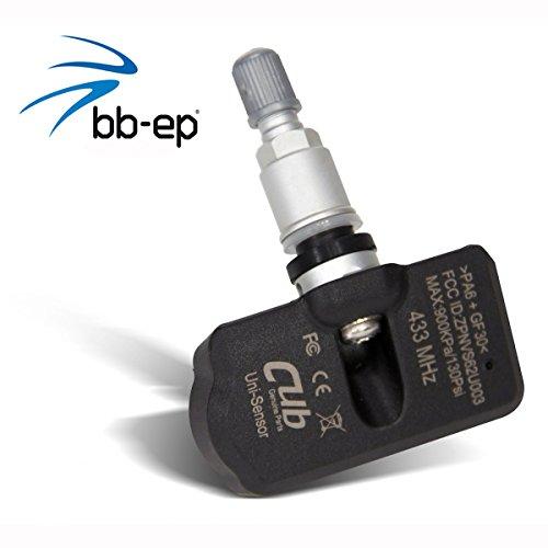 Système de contrôle de pression des pneus (rdks/TPMS) pour Citroen - C5 II à partir de l'année de construction 08/2004 jusqu'à 01/2008 de CUB - 1 de avec valve en métal - Compatible avec le véhicule progr ammiert et immédiatement universelle