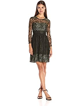 French Connection Damen Kleid Molly Lace Ls Rdnk Dress