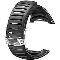Suunto Unisex Silikonarmband Core Graphite, Schwarz, One Size, SS013337000