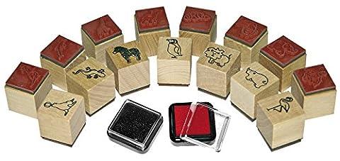 Mini-Stamps animals