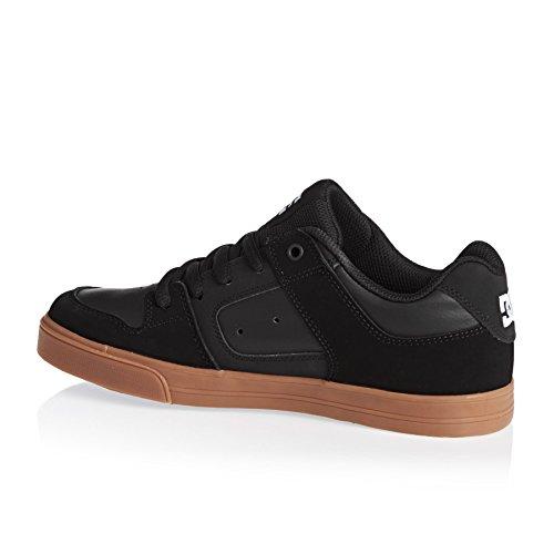 DC Shoes - PURE KIDS - BDWD - D0301069A/2 Jungen Sportschuhe - Skateboarding Noir - Black W/Gum