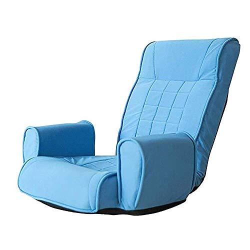 Japanisches Klappsofa mit 14 Sitzen und Verstellbarer Rückenlehne Lazy Couch, Sitz für Lounge-Sessel auf dem Balkon kann flach auf 180 ° gestellt Werden, kein Anlehnen an die Wand erforderli -