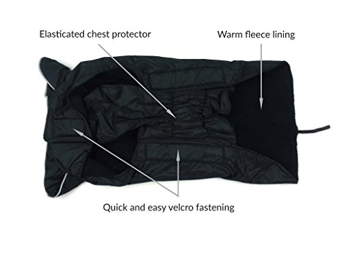 Phunky Pets Waterproof Dog Coat Jacket, Fleece Lined For Warmth, Chest Protector, Reflective Piping For Night Safety… 3