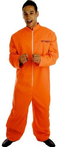 Männlich Gefangene - Adult Kostüm, Gr.- -