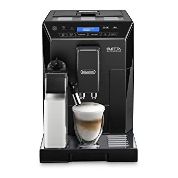 De'Longhi ECAM44.660.B Eletta Bean to Cup Coffee Machine, 1450 W - Black