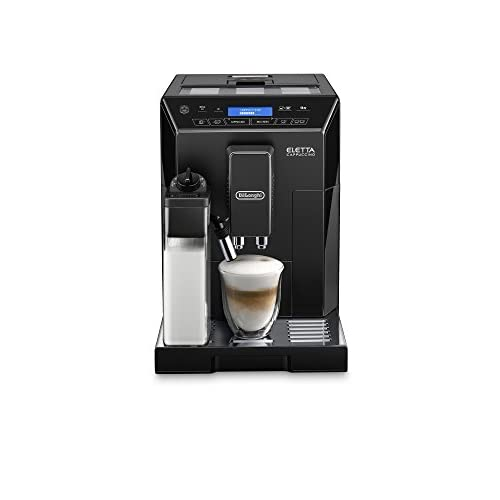 419uE2CaJhL. SS500  - De'Longhi Eletta, Fully Automatic Bean to Cup Coffee Machine, Cappuccino and Espresso Maker, ECAM 44.660.B, Black