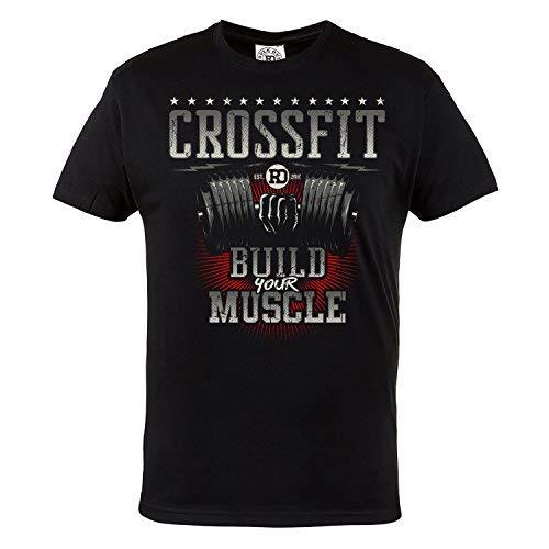 Rule Out T-Shirt Fightwear.Crossfit.Build Your Muscle. d'occasion  Livré partout en Belgique